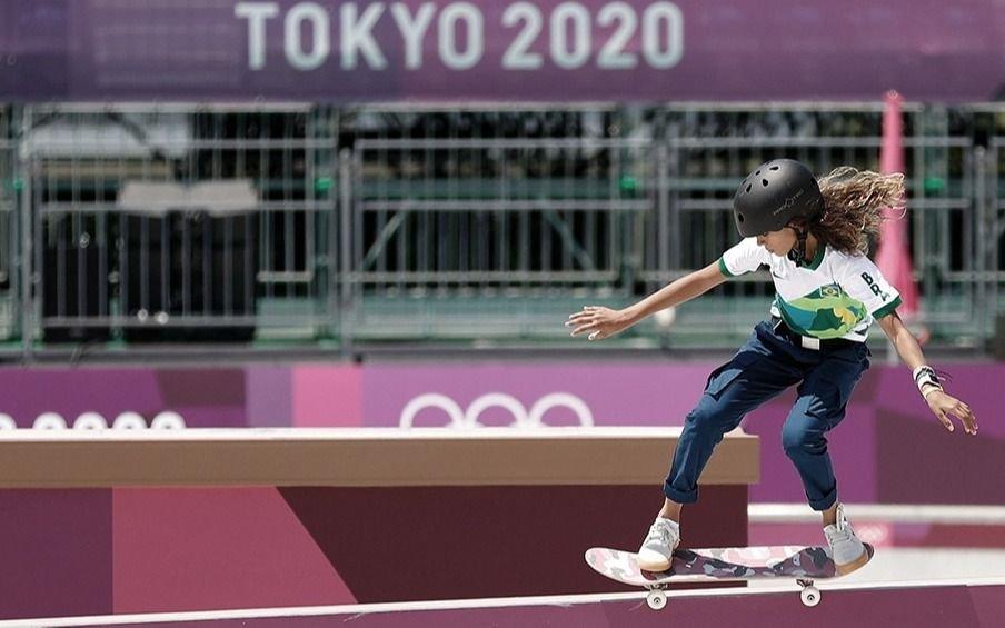 El inédito caso de Rayssa Leal: tiene 13 años y ganó medalla deplata en skate