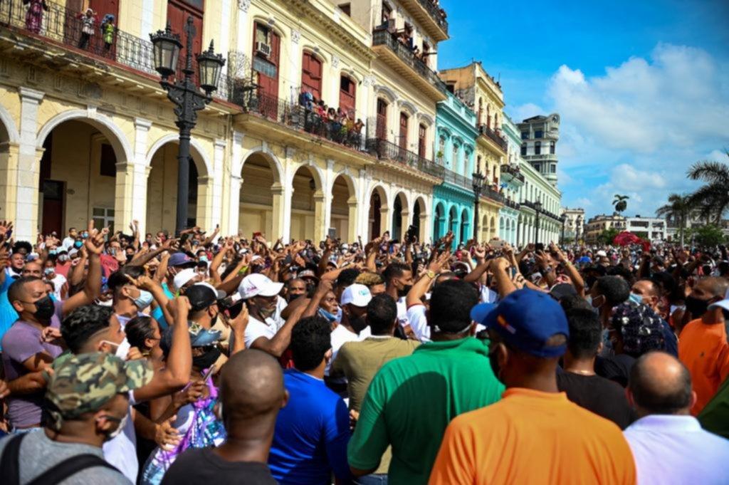 Más de 20 países repudian las detenciones masivas en Cuba