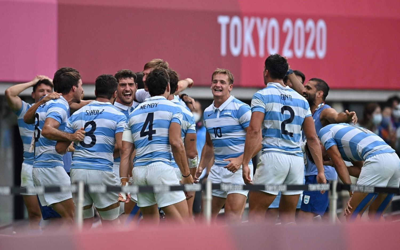 ¡Primera medalla en Tokio! Los Pumas '7 ganaron la de bronce tras una memorable corrida del platense Ignacio Mendy