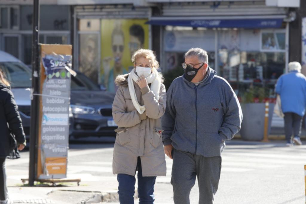 La Ciudad, ¡un freezer!: con mínima de -2º C, es el día más frío del año