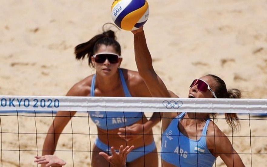 Beach volley: la dupla argentina se despidió con una derrota ante la pareja china