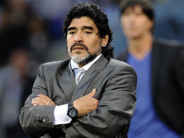 """Maradona, enojado con Tinelli y  Ojeda: """"Ni muerto voy al Bailando"""""""