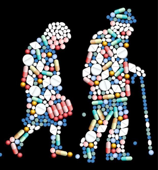 Cuando se toman más remedios de los que hacen falta
