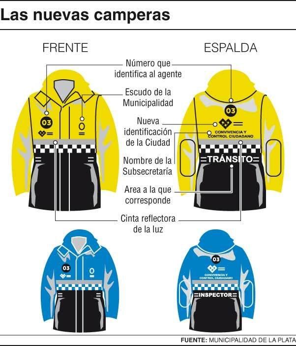 Nuevos colores  les cambian el uniforme a los agentes comunales - la ... 700c90a982bf2