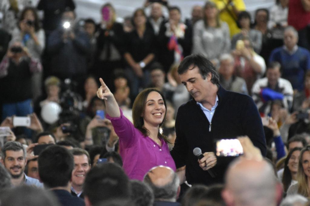 Vidal jugó a fondo en un intento por polarizar con Cristina Kirchner