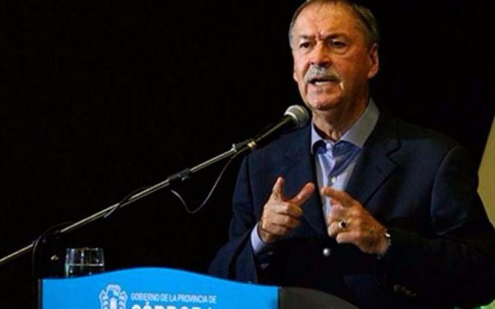 Schiaretti reconoció la derrota en Córdoba