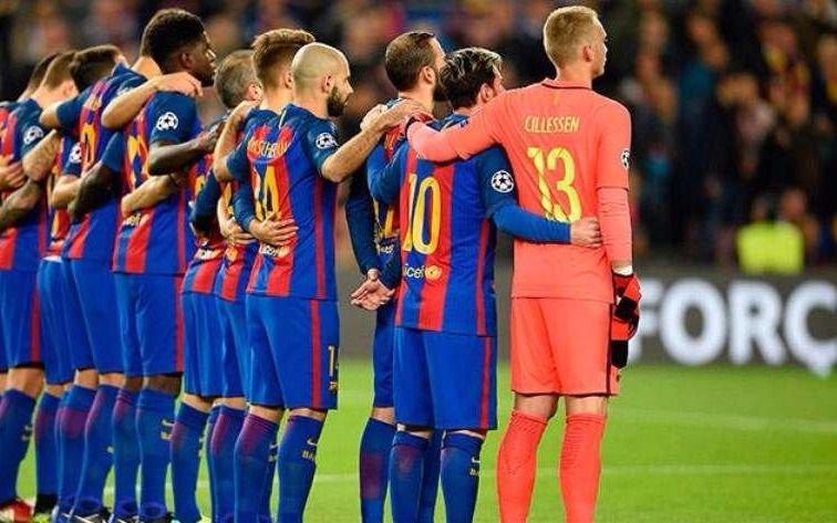 Barcelona usará una camiseta especial en homenaje a las víctimas del  atentado 32bc8bc52ae