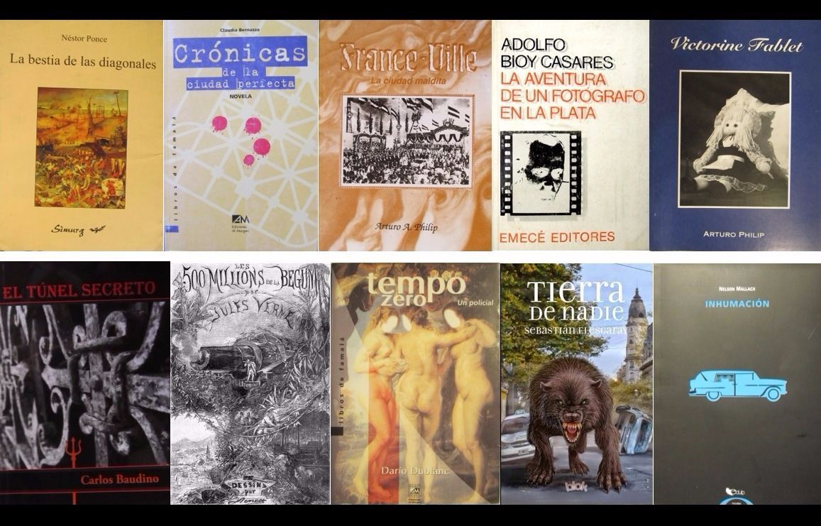 Diez novelas que transcurren en la ciudad de La Plata