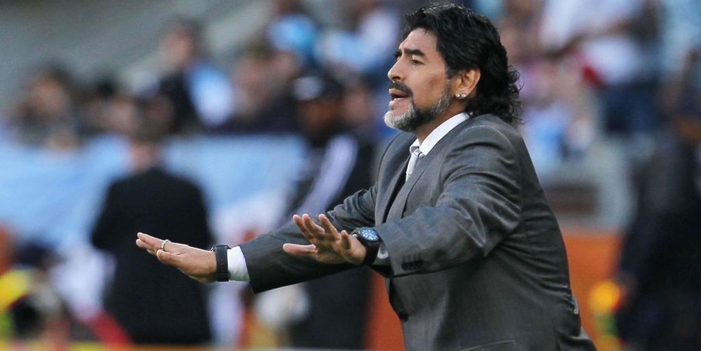 """Maradona, ofendido por no aspirar a seleccionador de Argentina"""""""