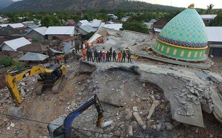Indonesia: más muertos por otro sismo de 5,9 grados en Lombok