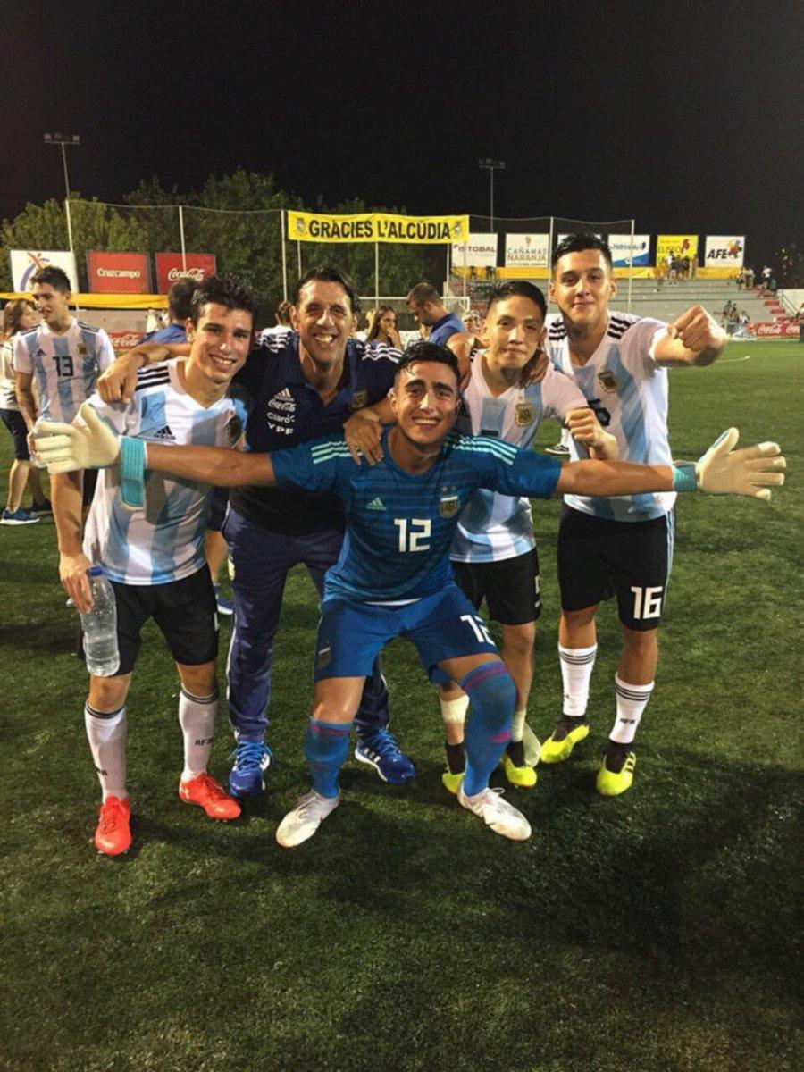 Toda la alegría en los Juveniles pinchas de la Selección Sub 20