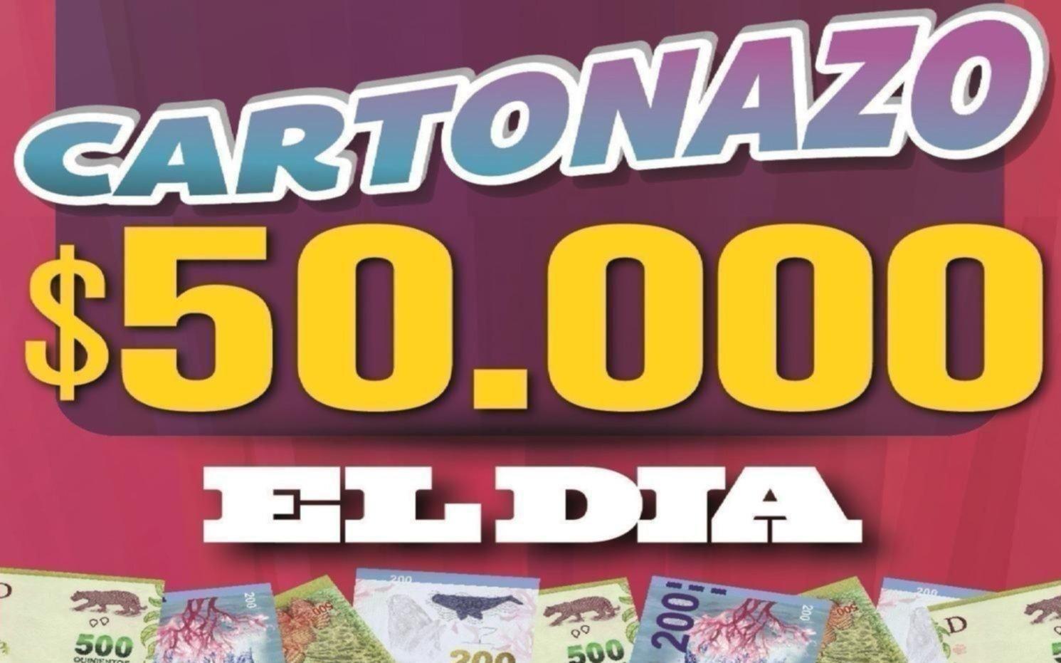 Salió un nuevo Cartonazo con un pozo de $50.000