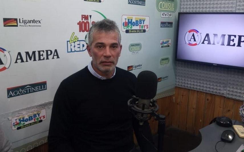 Gabriel Pellegrino habló de la actualidad del Lobo a horas del debut en la Superliga