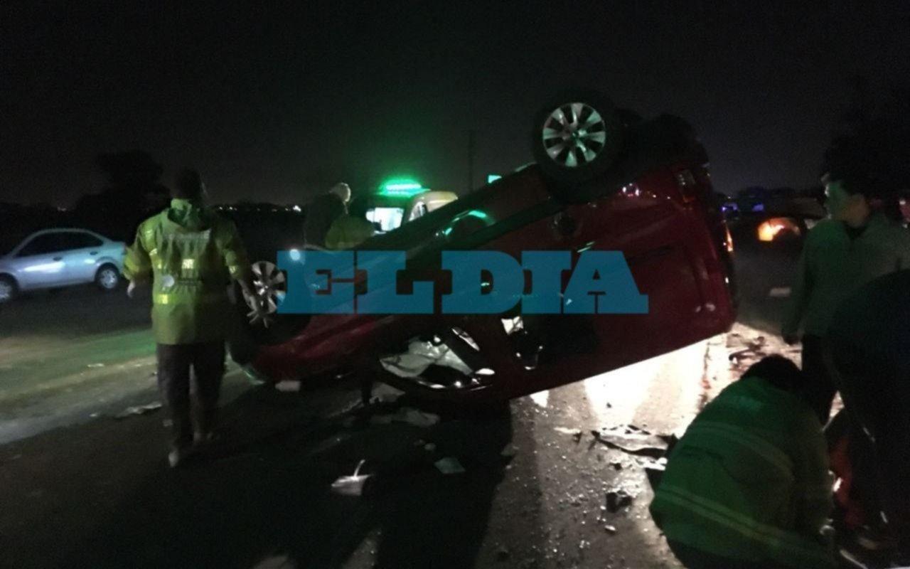 Tras accidente en ruta 11 y 637, alertan por falta de luminaria en la zona