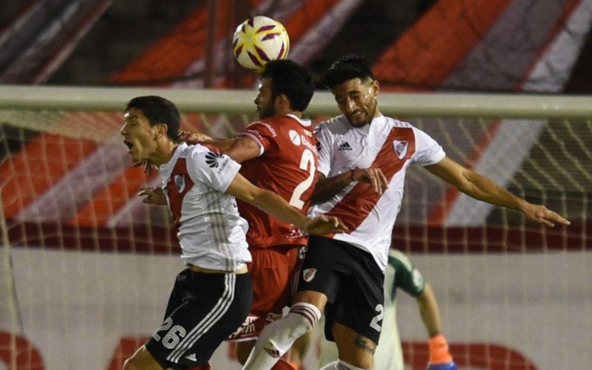 River empató sin goles con Huracán por la Superliga