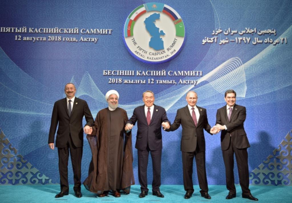 Acuerdo de mar Caspio asegura paz y buena vecindad, presidente iraní