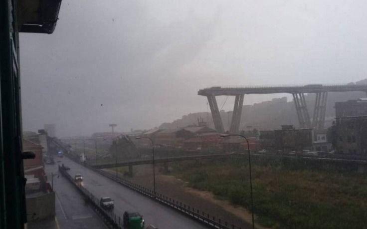 Al menos 11 muertos y cinco heridos, al caer puente en Génova
