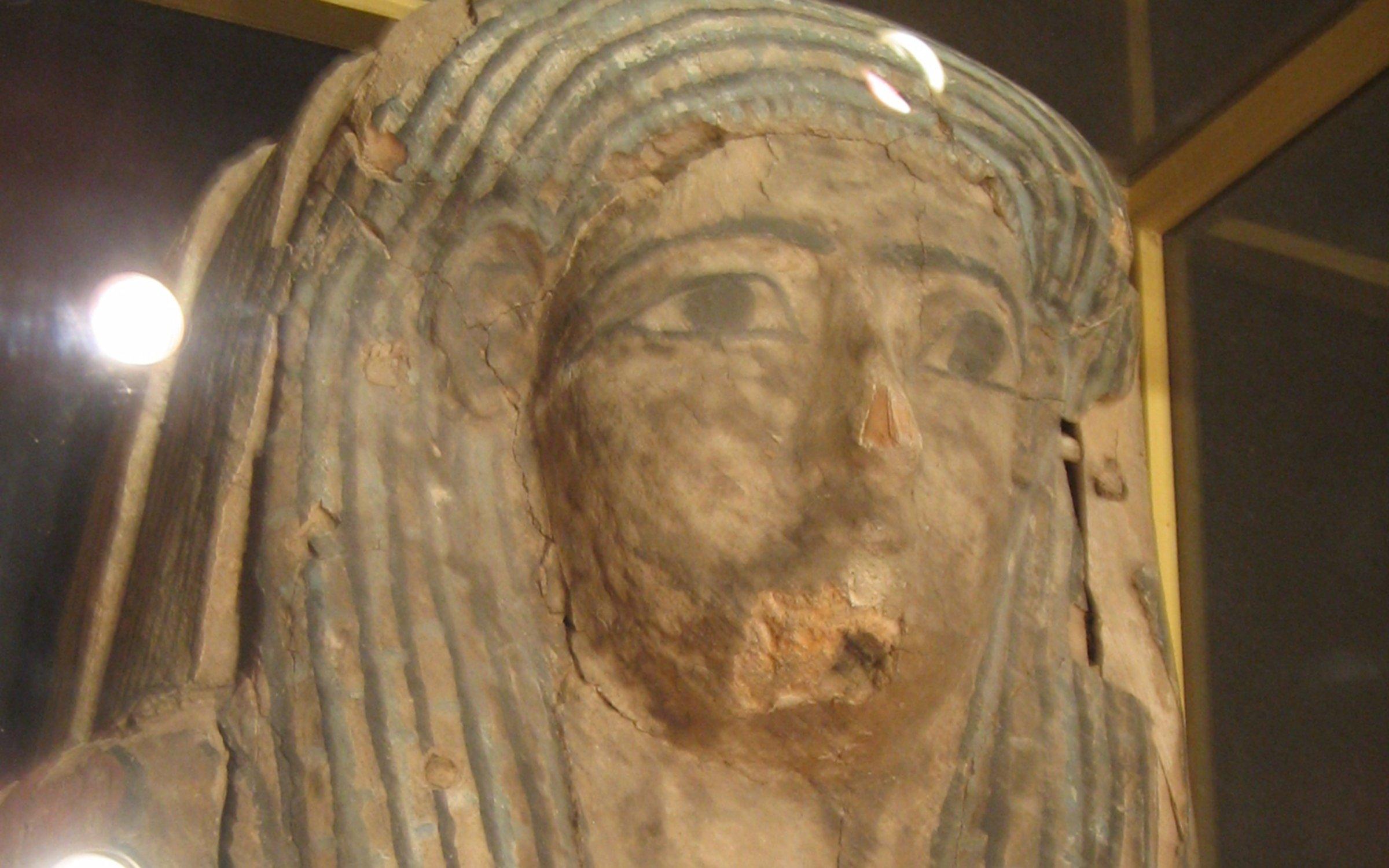 La maldición de las momias egipcias del museo