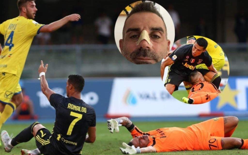 Cristiano Ronaldo busca su primer gol con la Juventus