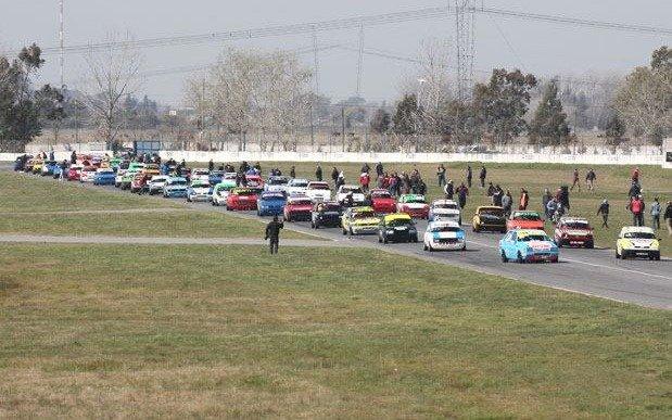 Fiesta de la Monomarca Fiat en el Mouras