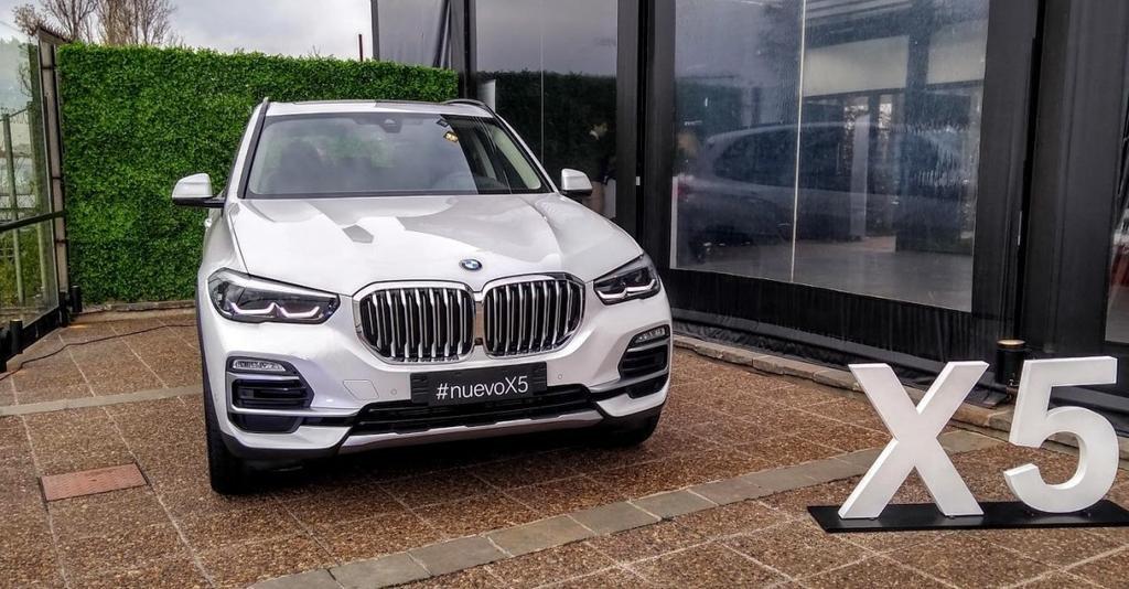 BMW ya ofrece en el país el nuevo X5