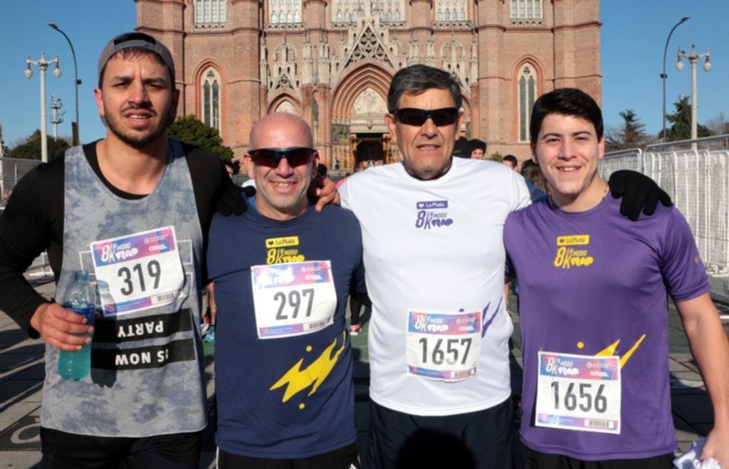Maratón por las calles platenses