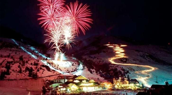 Bariloche se viste de blanco para celebrar la Fiesta Nacional de la Nieve