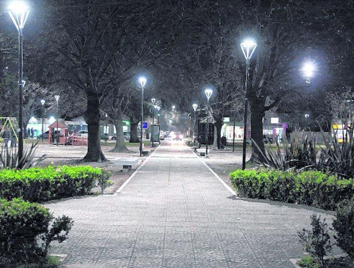 El plan de iluminación LED se extiende en el Norte