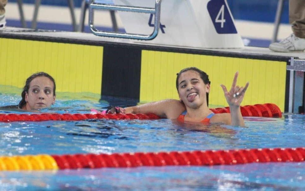 La nadadora argentina Pignatiello obtuvo su tercera medalla dorada en los Panamericanos