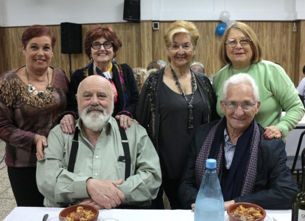 Celebración en el Centro Gallego platense