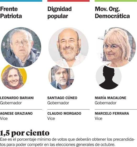 Axel Kicillof votó en Manzanares