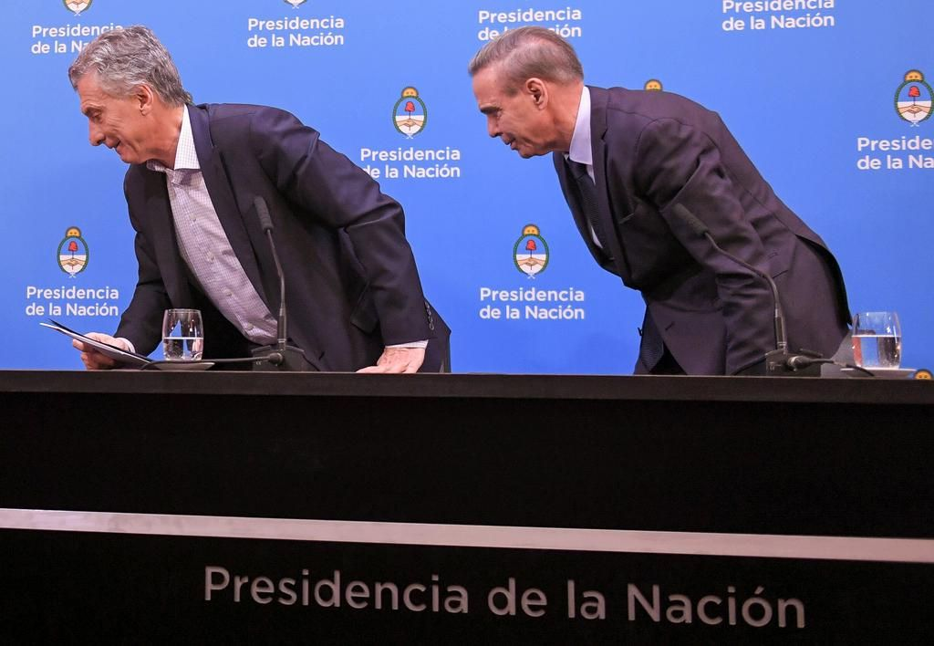 Macri le echó la culpa al kirchnerismo por el lunes negro post debacle electoral