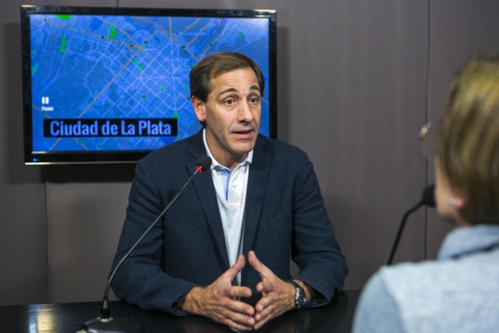 """Garro: """"Los platenses no vamos a rifar lo logrado en estos tres años en la Ciudad"""""""