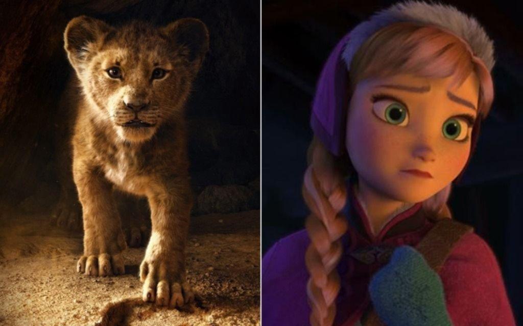 """Exitazo:  """"El Rey León"""" superó a """"Frozen"""" y es la peli animada más taquillera de la historia"""