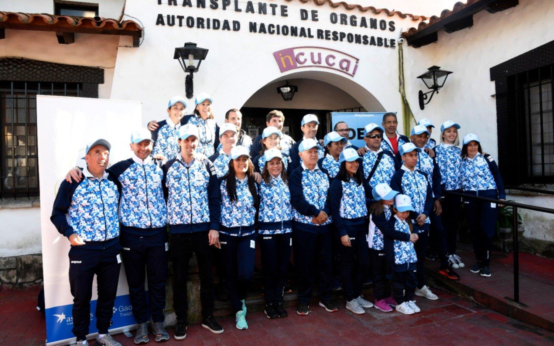 """Deportistas argentinos trasplantados viajan a los Juegos Mundiales a demostrar """"su calidad de vida"""""""