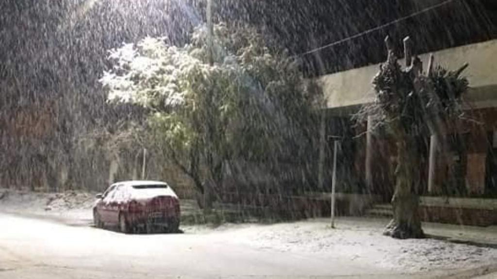 Frío polar con nevadas en Mar del Plata y otras ciudades del interior bonaerense