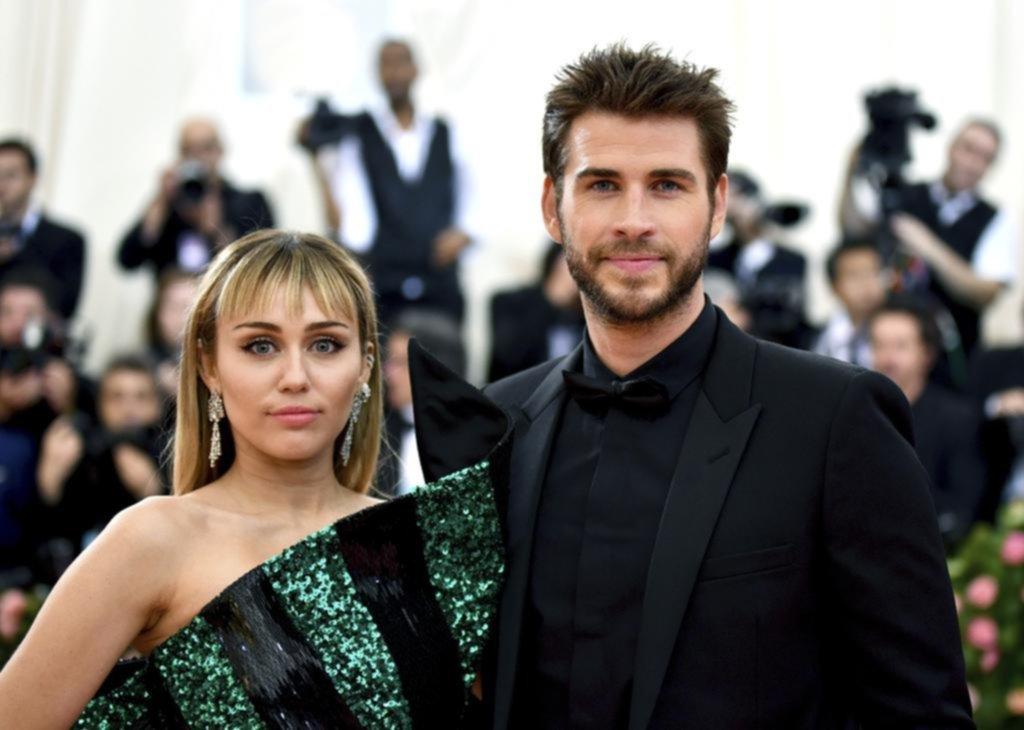 """Liam le desea """"salud y felicidad"""" a Miley"""
