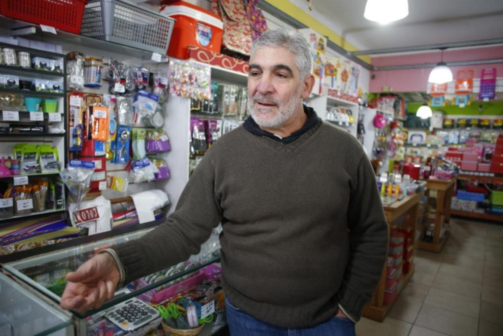 """""""Mechero"""" robó mercadería por 3 mil pesos en un bazar"""