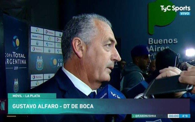 Lo que dijo Alfaro de la eliminación, De Rossi y los penales errados