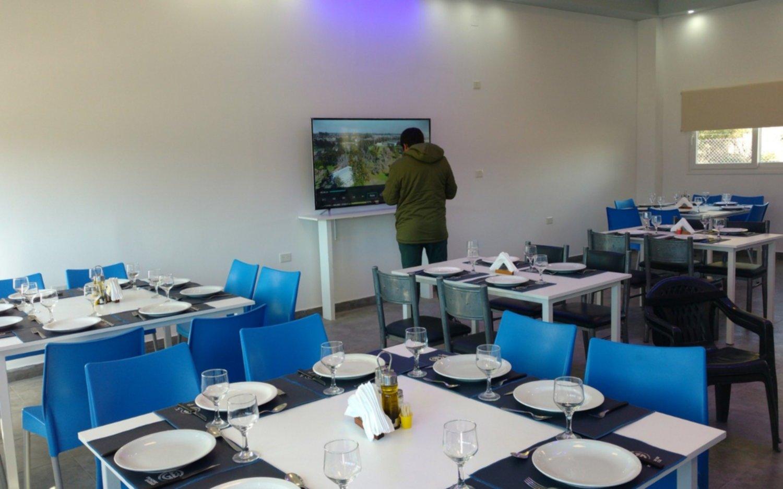 Tras una práctica con novedades, se inauguró el nuevo comedor en Estancia