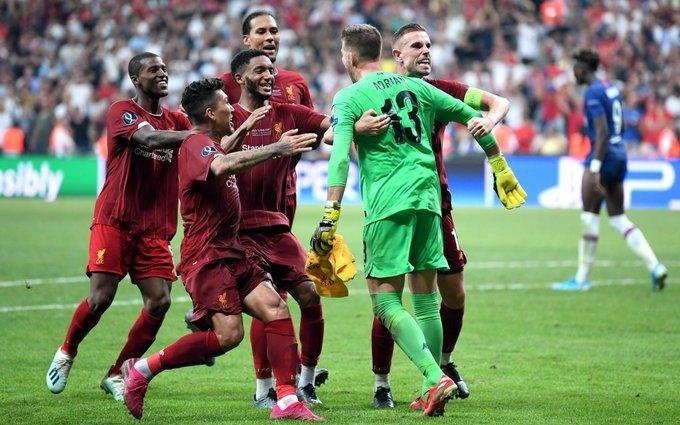 Liverpool se coronó campeón de la Supercopa de Europa