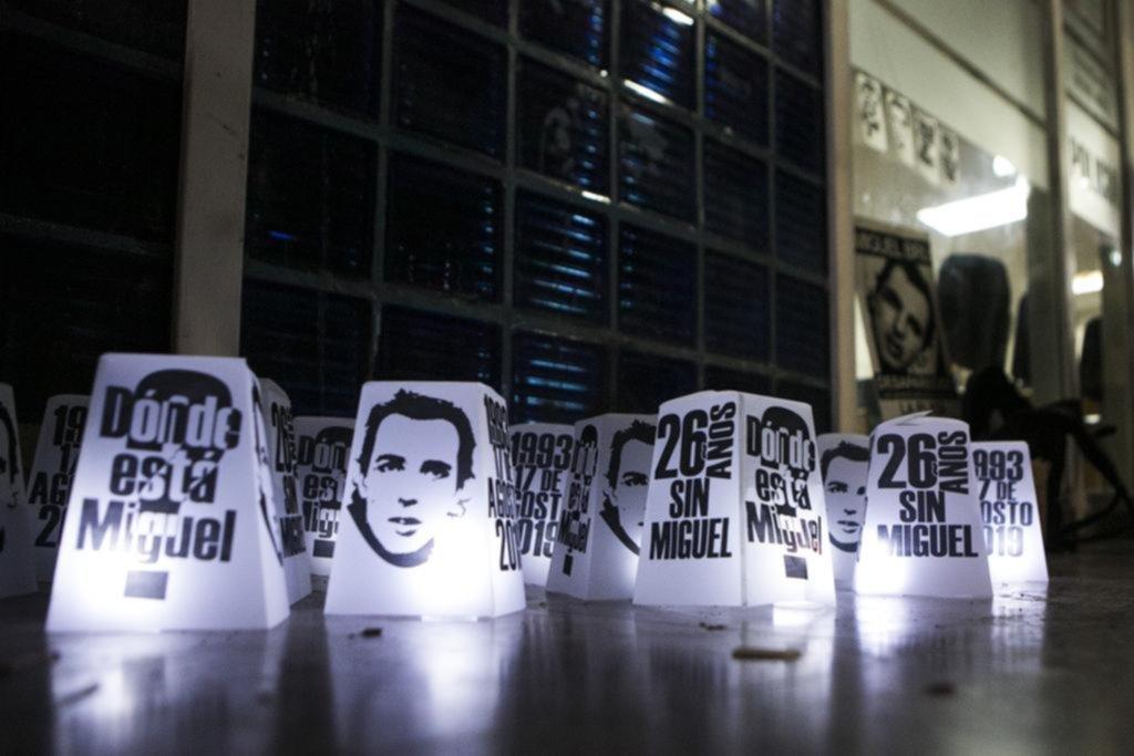 Una nueva vigilia frente a la Novena, a 26 años de la desaparición de Bru