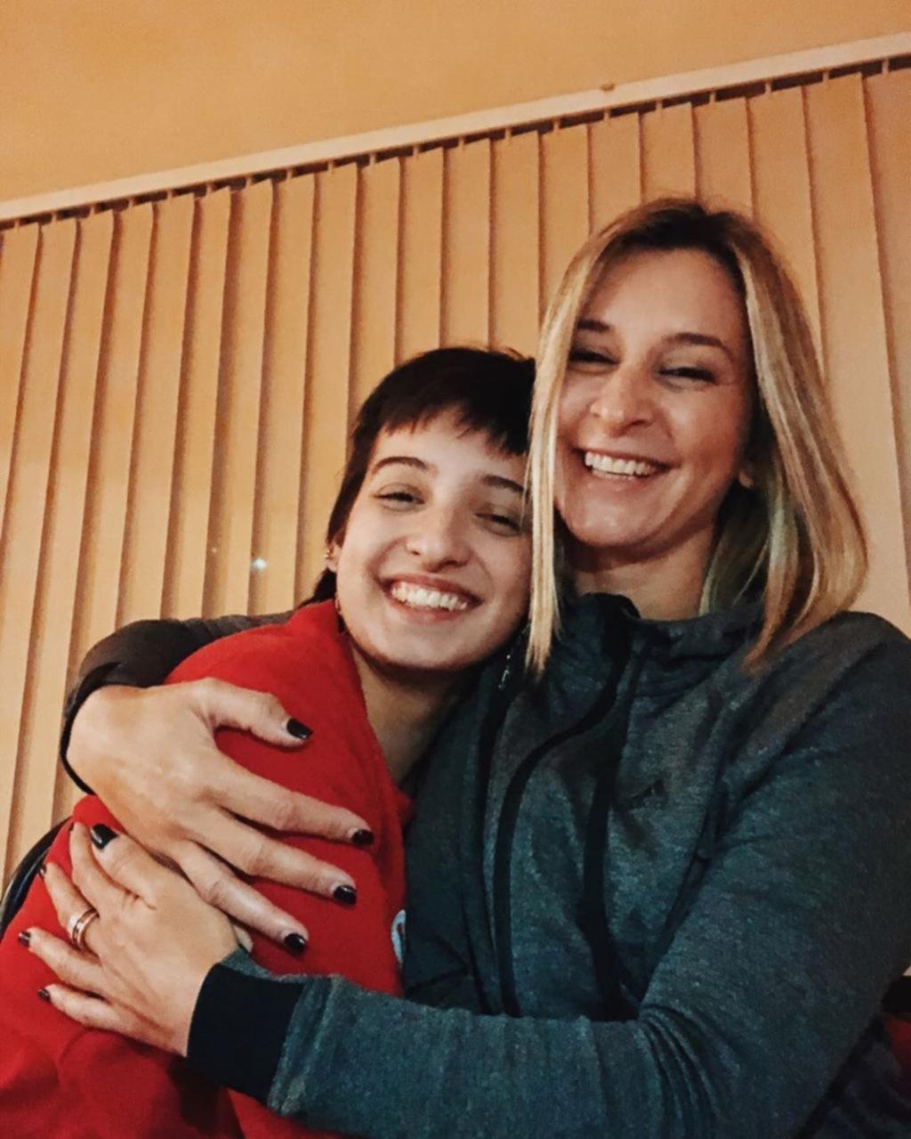 Tras meses de ausencia, reapareció la periodista Mariela Fernández