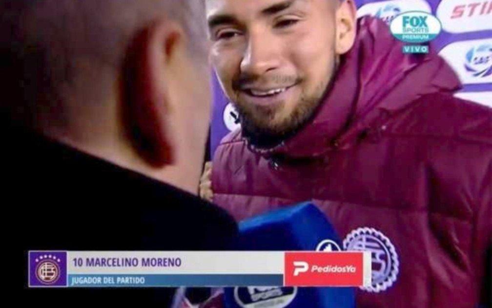 Jugador argentino se arrepintió de sus declaraciones y abandonó entrevista