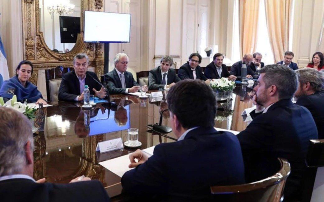 """Macri definió conformar una """"Mesa de Acción Política"""" para coordinar la campaña hacia octubre"""