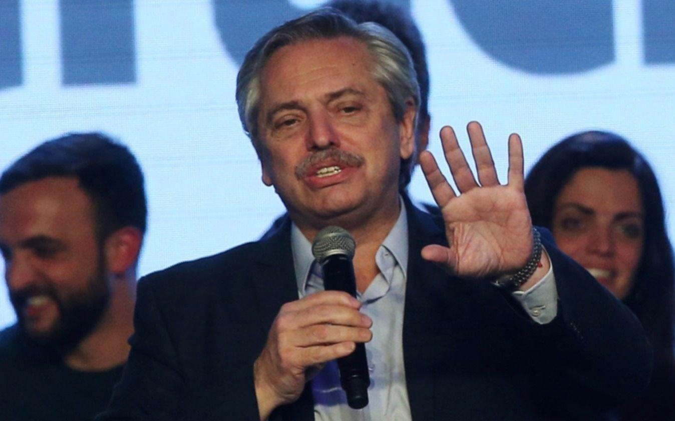 """Alberto Fernández: """"Hay que ser respetuosos de la investidura presidencial"""""""