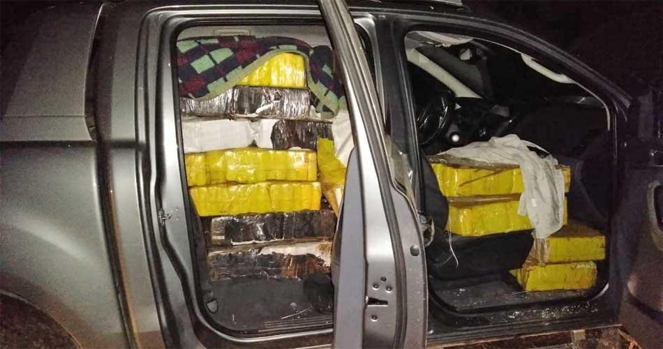 Persecución, tiroteo y dos narcos detenidos en Monte con dos toneladas de marihuana
