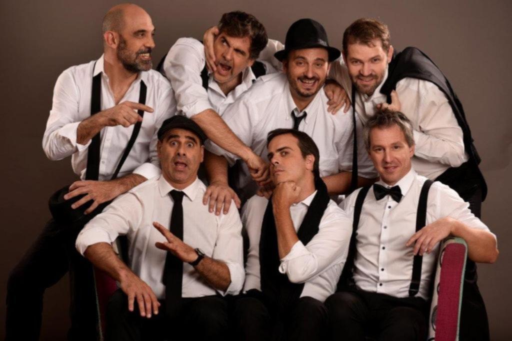 El septeto Voxpop llega a La Plata Éxitos de Queen, Beatles, Erasure y Aerosmith a capella