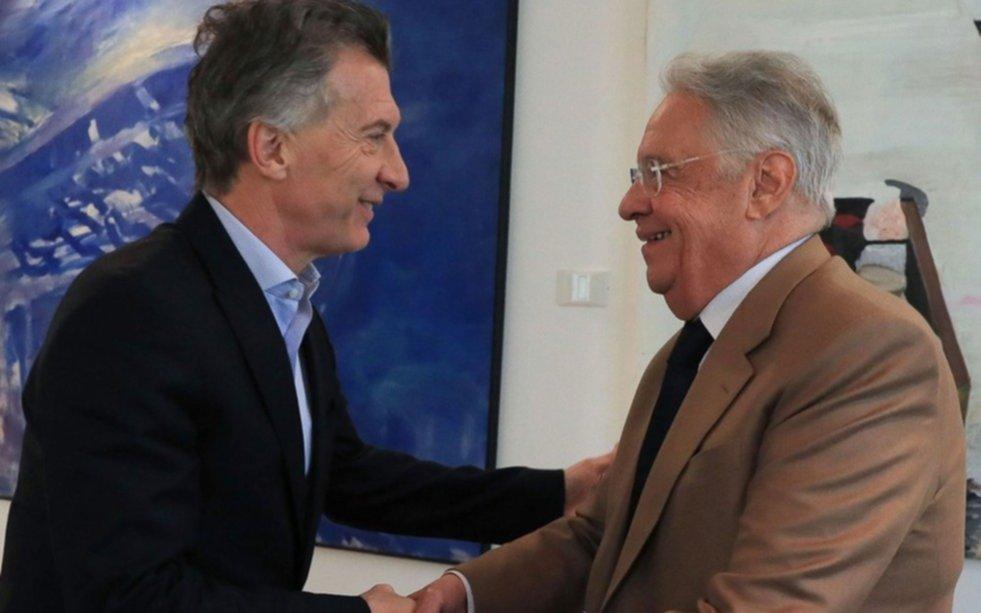 Macri recibió en Olivos al ex presidente del Brasil Fernando Henrique Cardoso