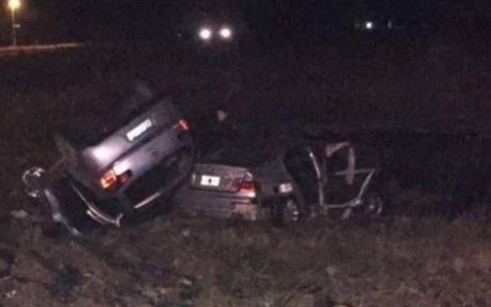 Hacían el peritaje por la muerte del intendente cuando otro auto volcó y cayó sobre el vehículo siniestrado